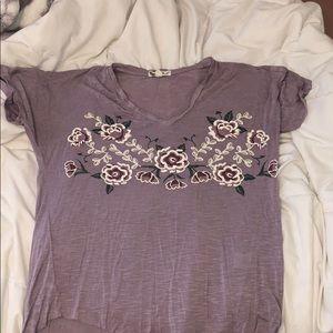 flower tee-shirt